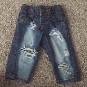 Other - Distressed baby jeans